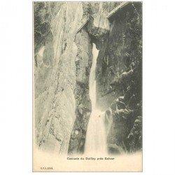 SUISSE. Cascade du Dailley près Salvan vers 1900