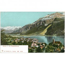 SUISSE. Brienz und die Sustenhörner vers 1900