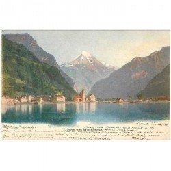 SUISSE. Elülen Flüelen und Bristenstock 1902