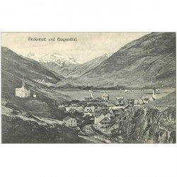 SUISSE. Andermatt und Hospenthal