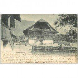 SUISSE. Châlet suisse 1901