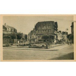 carte postale ancienne 14 DEAUVILLE. Auberge Place Morny