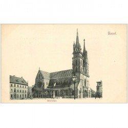 Suisse. BASEL BALE. Münster vers 1900