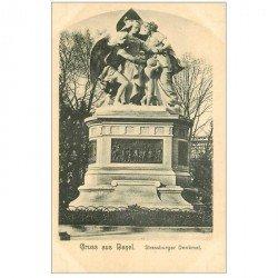 Suisse. BASEL BALE. Strassburger Denkmal vers 1900