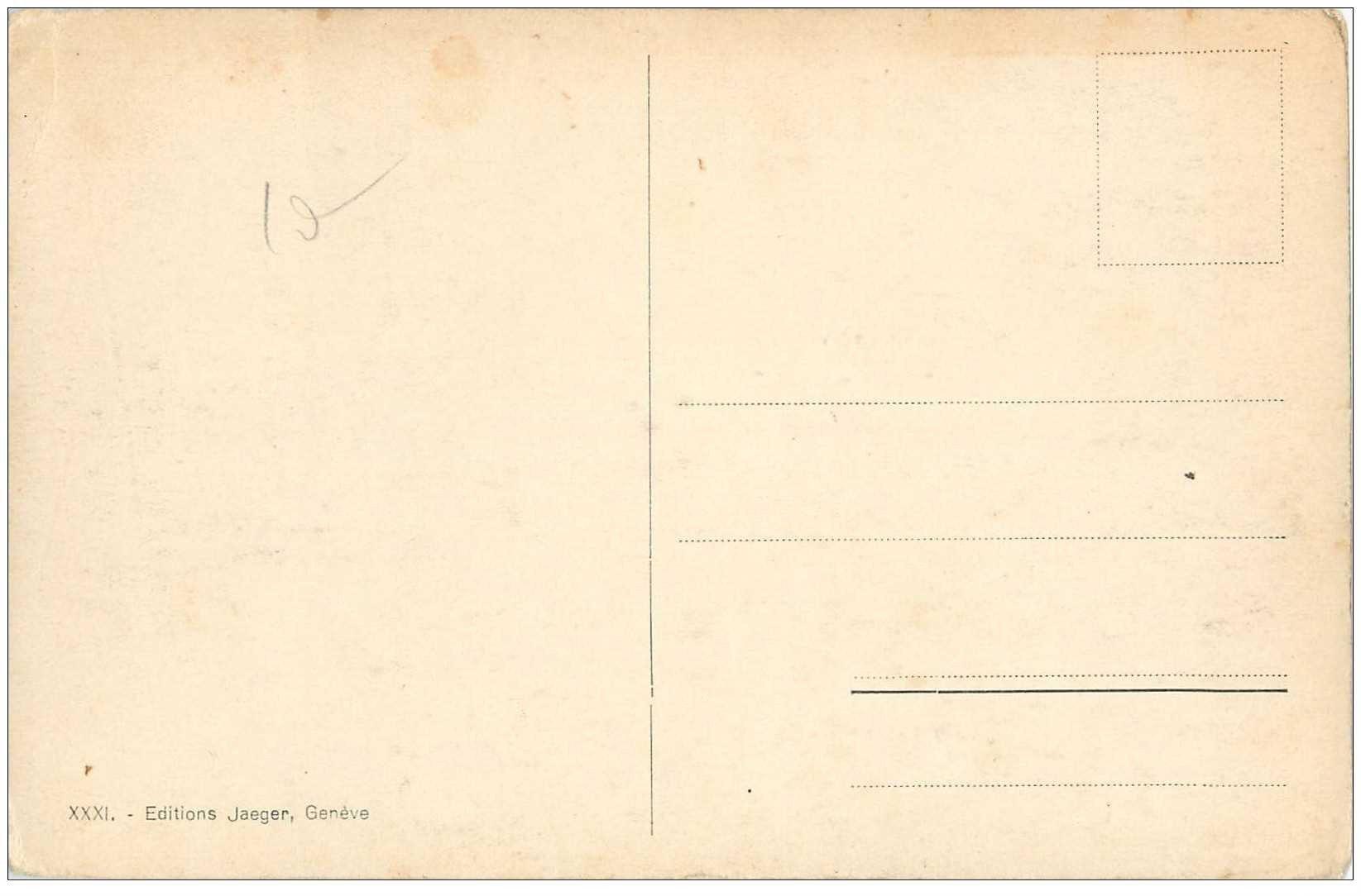carte postale ancienne suisse gen ve bureau international du travail. Black Bedroom Furniture Sets. Home Design Ideas