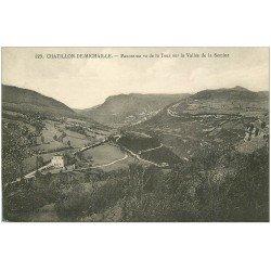 carte postale ancienne 01 Chatillon-de-Michaille. Vallée de la Sémine