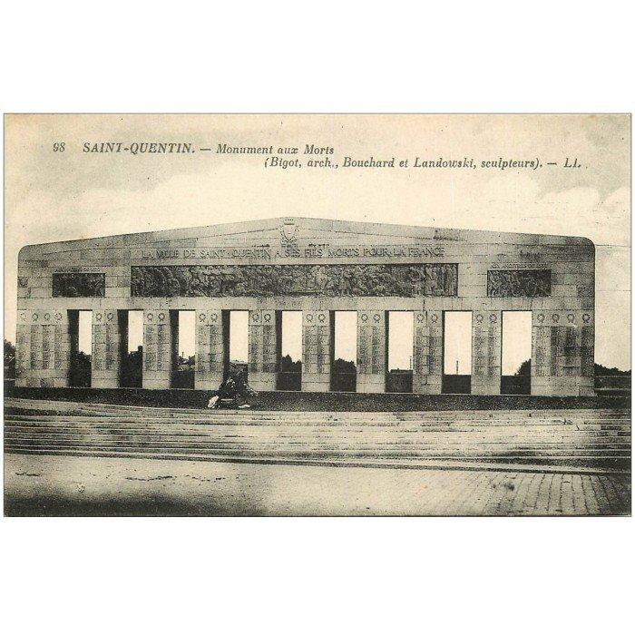 02 saint quentin monuments aux mort for Rencontre 02 saint quentin