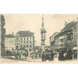 SUISSE. Basel. Fischmarktbrunnen
