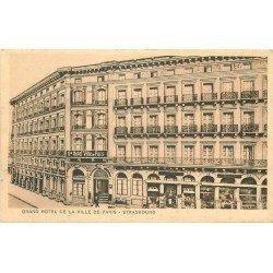 67 STRASBOURG. Grand Hôtel de la Ville de Paris