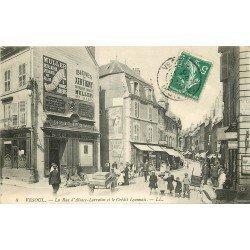 70 VESOUL. Banque Crédit Lyonnais Rue Alsace-Lorraine 1909