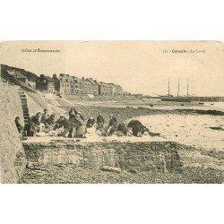 35 CANCALE. Lavandières Laveuses au Lavoir 1905