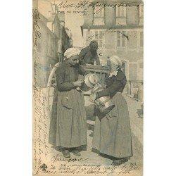 36 Laitières Berrichonnes 1904 métiers de la Campagne