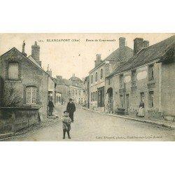 18 BLANCAFORT. Route de Concressault 1916