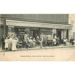 93 PIERREFITTE SUR SEINE. Café de la Mairie Rue de Paris