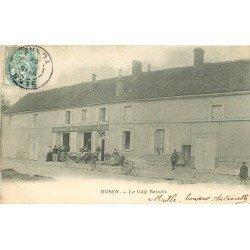 60 ROSOY. Le Café Besson devenu le Café Fouet 1904