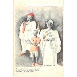 Illustrateur Constant Bree. Art Africain l'Inlassables vendeurs obstinés...