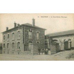 92 BAGNEUX. La Sous-Station Electrique