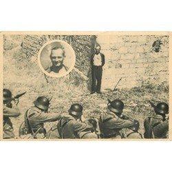 MILITARIA. Un Martyr et le Fusillé inconnu souriant à son exécution. Guerre 1939-45