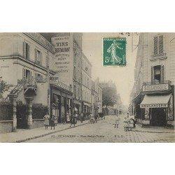 92 COLOMBES. Boulangerie et Restaurant de la Terrasse rue Saint-denis 1908