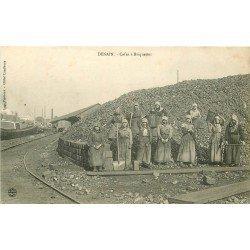 59 DENAIN. Cafus à Briquettes. Métiers de la Mine