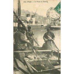 76 DIEPPE. La Pêche aux Harengs 1909