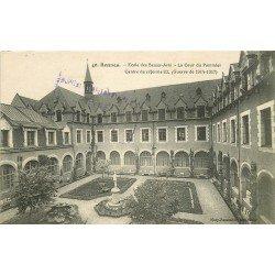 35 RENNES. Ecole des Beaux-Arts la Cour du Pommier Centre de Réforme Guerre 1914