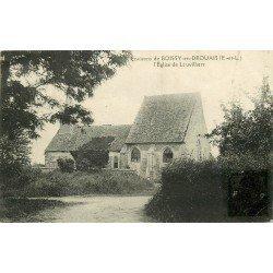 28 BOISSY-EN-DROUAIS. L'Eglise de Louvilliers 1925