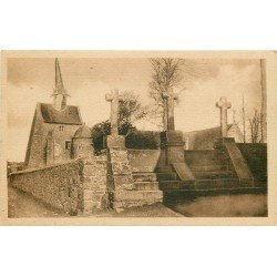 22 PLOUGRESCANT. Chapelle Saint Gonery et les trois Croix