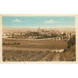 11 OUVEILLAN. Vue sur le Village 1942