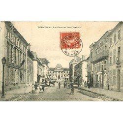 55 COMMERCY. Rue Carnot et Sous-Préfecture 1914