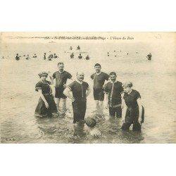59 SAINT-POL-SUR-MER. L'Heure du Bain en maillot de bain une pièce 1918