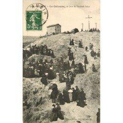 12 AUBIN. Le Calvaire en jour de Vendredi Saint 1913