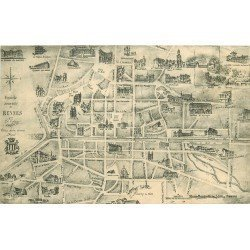 35 RENNES. Plan guide de l'Ancien Rennes