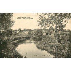 60 MONTLAGNON. La Nonette et vue sur Fontaine