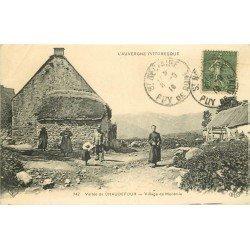 63 MONTMIE. Le Village Vallée de Chaudefour 1919