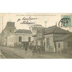 35 RENNES. Gare de Viarmes et annexe de la Faculté des Sciences 1904