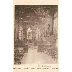 61 MORTAGNE. Chapelle de Marguerite de Lorraine
