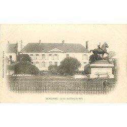 61 MORTAGNE. Jardin de l'Hôtel de Ville vers 1900