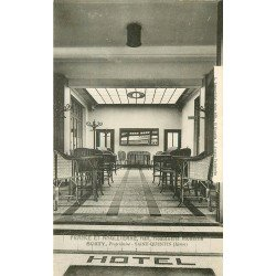 02 SAINT-QUENTIN. Hôtel France Angleterre hall Hostellerie moderne