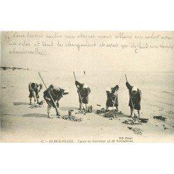 62 BERCK PLAGE. Types de Verrotier et de Verrotières 1916. Métiers de la Mer