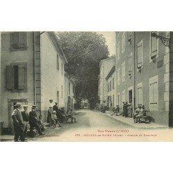 11 RENNES-LES-BAINS. Avenue de Bugarach 1917