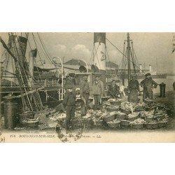 62 BOULOGNE SUR MER. L'Arrivée du Poisson 1921 Métiers de la Mer