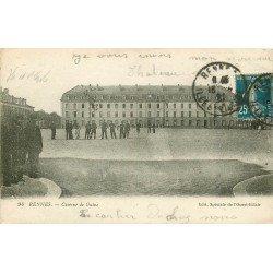 35 RENNES. Militaires à la Caserne de Guine 1921