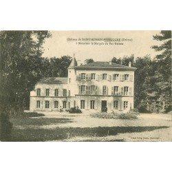 26 SAINT-ROMAIN-ESPELUCHE. Le Château. Carte écrite par le Marquis de Pac-Badens 1925