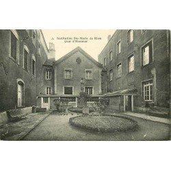 63 RIOM. Cour Honneur institution Sainte-Marie