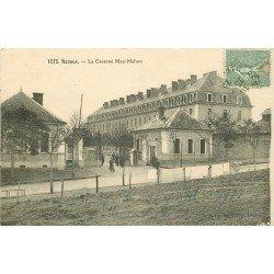 35 RENNES. Caserne Mac-Mahon avec Militaires 1923