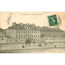 35 RENNES. La Caserne du Colombier 1910