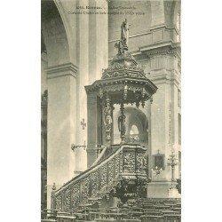 35 RENNES. Chaire en bois de l'Eglise Toussaints
