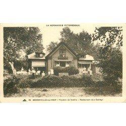 14 BENERVILLE-SUR-MER. Pension de Famille Restaurant Le Canisy 1937