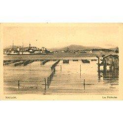 83 TOULON. Les Pêcheries et navires de Guerre. Métiers de la Mer